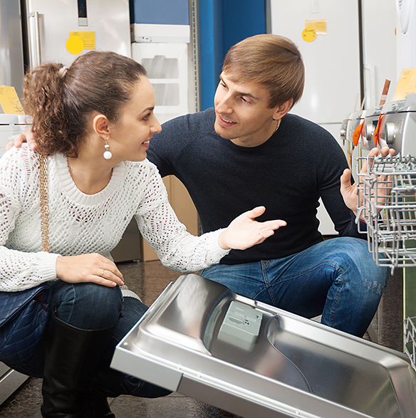 Parsons Appliance repairs dishwashers